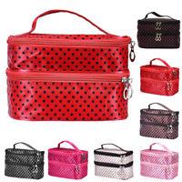 Travel Nail Varnish Beauty Cosmetic Makeup Storage Bag Case Box Handbag Holder