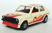 Corgi Vintage Diecast JCHome16 - Volkswagen Polo Mk1 Racing Cream #14