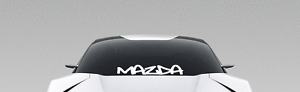 "Mazda Graffiti Windshield Banner Decal Sticker 23"" RX-8 mazdaspeed 3 6 5"