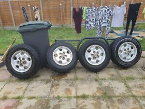 Range rover p38 alloy wheels