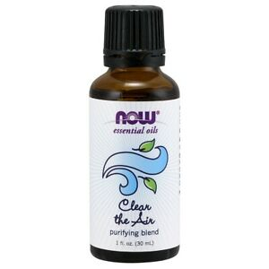 NOW Foods Clear the Air Oil Blend 1 oz. FREE SHIPPING. MADE IN USA. FRESH