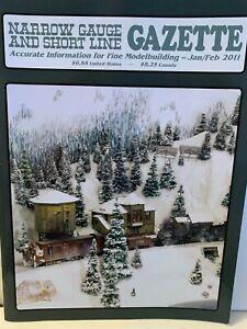 Narrow Gauge And Short Line Gazette Magazine, 6 issues 2011