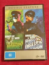Bruce Lee☆GREEN HORNET/FURY OF THE DRAGON☆RARE☆KATO☆R4 DVD☆
