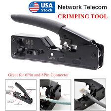 Network Telecom Crimping Tools For Rj45 Rj11 Rj12 Cat7 Cat6/6a Cat5/5e 6Pin 8Pin
