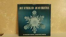 Vintage LP 33rpm  Record Joan Sutherland Joy of Christmas London OS 25943  R-42