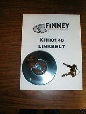 LINKBELT Excavator locking Fuel Cap with keys KHH0140