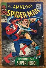 Amazing Spider-Man 42 Nov 1966 Silver Age Comic Rhino First Mary Jane