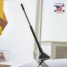 """9"""" Car Radio Stereo Universal Flexible Rubber Aerial Mast Antenna Bee Sting New"""