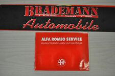 ALFA ROMEO 916 GTV SPIDER Original Serviceheft 3.0V6