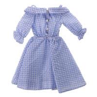 1/4 BJD Dress Off Shoulder Plaid Skirt for 1/4 Dollfie DOD AOD LUTS Clothes