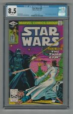 Star Wars #48 CGC 8.5 VF+ Marvel Comics 6/81 Leia vs. Darth Vader The Third Law!