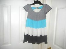 SIZE LARGE -TEMPTED GIRL 's Mixed Colors  Dress       SZ: large