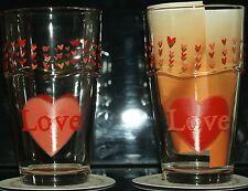 """Ritzenhoff & Breker 2 Latte Macchiato/Longdrink Gläser Motiv """"Love"""""""