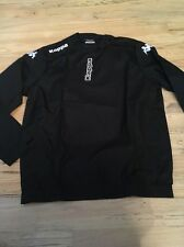 NWT Mens Kappa black lightweight jacket size L stock No.302V7F0 Windbreaker/