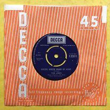 Tom Jones - Green Green Grass Of Home - Decca Records F.22511 Ex Condition