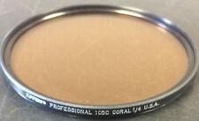 Tiffen Professional 105C Round Coral Filter