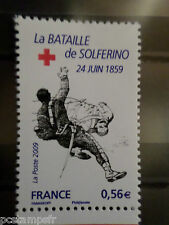 FRANCE 2009, timbre 4387, CROIX ROUGE SOLDAT BLESSE', neuf** MNH STAMP RED CROSS