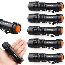 6X 8000LM  Q5 AA/14500 Zoombare LED Superhellen Focus Taschenlampe Flashlight