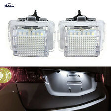 2Pcs LED Number License Plate Light for Mercedes Benz W204 W212 C207 C216 W221