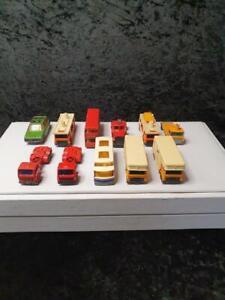 Vintage Matchbox Lesney Diecast Car Bus Trailer Truck  Bulk Lot 1