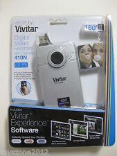 VIVITAR 410N Digital Video Recorder with Camera SILVER FACTORY SEALED!