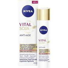 NIVEA Vital Soy Anti-Age Tinted Intensive Day Care Light-Medium SPF15  *GERMANY*