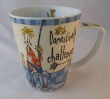 Johnson Brothers Bros Born to Shop Coffee Mug Domestically Challenged England