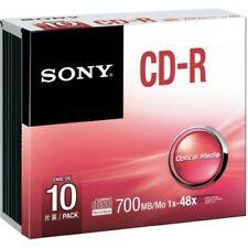 CD-R Sony para ordenadores y tablets