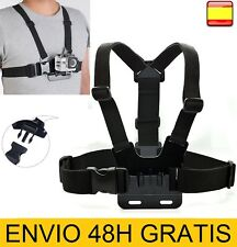 Arnes de Pecho para Camara GoPro Go Pro Hero6 Hero 6 5 4 3+ 3 2 1 SOPORTE