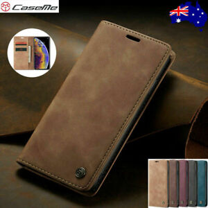 CaseMe Magnetic Leather Wallet Card Case For Samsung Galaxy A72 A52 A51 A71