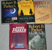 Robert B. Parker Lot of 5 Novel Hardcover with DJ Books spenser/sunny randall