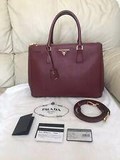 PRADA Galleria Large Saffiano Lux Tote bag, 100% Authentic, STUNNING