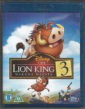 THE LION KING 3 - HAKUNA MATATA - UK BLU-RAY  (mint condition - as new/unplayed)