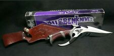 RARE Gil Hibben signed 1996 Dragon Lord Knife GH898 with Box & Leather Sheath