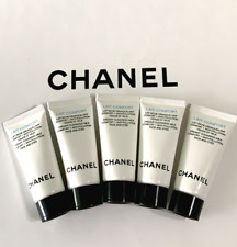 Chanel Lait Confort Creamy Cleansing Milk Face And Eyes - 0.17 Oz X5