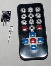 Ir Remote Control Reciver Kit For Arduino Raspberry Pi Arm Avr Dsp Pic Diy Home