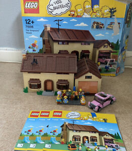 Lego Simpsons House (71006). Used. UPS Delivery