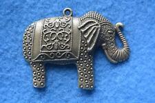 B018 breloque scrapbooking pendentif BRICOLAGE bracelet collier éléphant