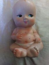 Antique* Kewpie Victorian Piano Gerber Baby Doll Diaper Ceramic Powder Dispenser