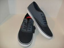 Levi's Levi Strauss Canvas Sneakers Navy Blue Lace Up Casual Shoes Mens 13