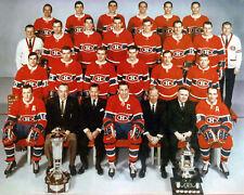 Montreal Canadiens 1968-69 Championship Team Photo