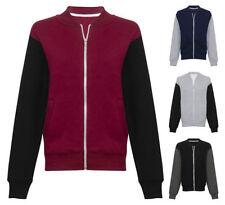 Unbranded Men's Cotton Zip Fleece Coats & Jackets