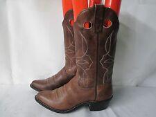 DURANGO Brown Leather Cowboy Buckaroo Boots Size 6.5 M Style 1182