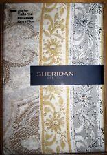 SHERIDAN Tailored Pillowcase PAIR 50x75cm MERCURIO DUNE New