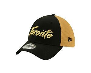 Toronto Raptors New Era 39THIRTY NBA City Edition Stretch Flex Cap Hat Series