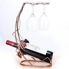 Metal Wine Racks Hanging Wine Glass Holder Fashion Bar ware Glass
