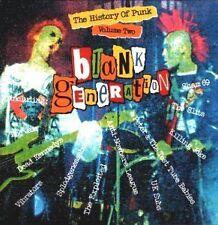 The History of Punk Blank Generation Vol. 2 Jam Exploited Dead Kennedys U.K. Sub