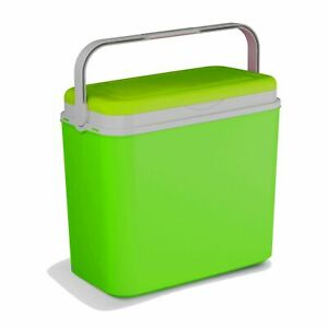 Extra Large Lime Green 36 Litre Cooler Box Picnic Lunch Beach Camping 3 Ice Pack