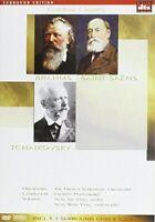 DVD Brahms Saint-Saens Tchaikovsky Goldline Classics Neuf