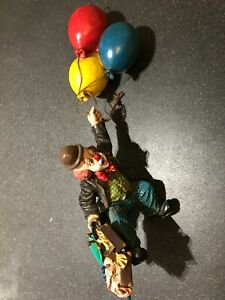 Vintage Ceiling Hanging Clown Ornament Decoration Balloons Flying. Immaculate.